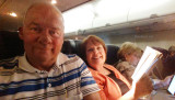 February 2015 - Don and Karen Boyd returning to Ft. Lauderdale on a Southwest Airlines flight from Tampa