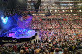 April 2017 - a minute or so before the lights went out for the Neil Diamond concert at the BB&T Center