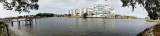 January 2017 - panoramic view from Wendy and Jim's backyard in St. Petersburg