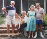 Summer 1986 - Jim Criswell, Esther Criswell, niece Katie Criswell, prego Karen Criswell Boyd and Don Boyd