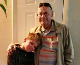 May 2017 - Don Boyd with his oldest grandson Kyler in Colorado Springs