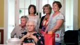 June 2016 - Aunt Thelma Blasko's 91st birthday party with her children Dennis, Carol, Barbie and Kathy