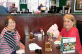 April 2016 - Karen with Lynda Atkins Kyse at Duffy's Sports Grill in Weston