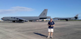 November 2016 - Kev Cook with USAF B-52H-175-BW Stratofortress and B-1B Lancer bombers