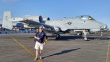 November 2016 - Kev Cook with Air Force Reserve Fairchild A-10A Thunderbolt II Warthog #78-0655