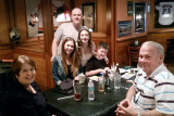 December 2014 - Karen Boyd, Jessica Pries, Joe Pries, Alana Pries, Andrew Pries and Don Boyd after a nice lunch at Shula's 2