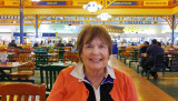 November 2015 - Karen at the Arundel Mills Food Court southwest of Baltimore