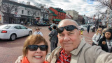 November 2015 - Karen and Don Boyd in downtown Annapolis, Maryland