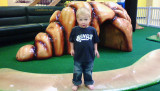 October 2007 - Kyler at the kiddy playground at Chapel Hills Mall in Colorado Springs