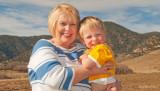 November 2008 - Grandma Karen with our grandson Kyler