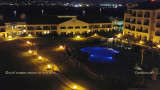 2016 - night time view of the grounds and pool at the Navy Lodge at North Island Naval Air Station