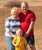 November 2008 - Karen, Kyler and Don Boyd in Colorado Springs