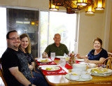 December 2015 - Jon Perez, Donna, Don and Karen Boyd