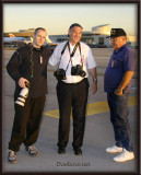 February 2006 - Joe Pries, Michel Klein and Don Boyd at Miami International Airport