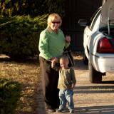 October 2007 - Karen with our grandson Kyler Kramer in Colorado Springs