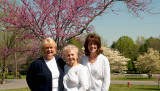 April 2008 - Karen, Esther Majoros Criswell and Kathy Criswell at Esther's home in Franklin