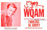 December 1966 - WQAM music survey for December 24, 1966 featuring Rick Shaw