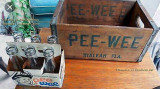 1950's-1960's - Pee Wee sodas featuring Skipper Chuck on the six pack container