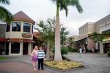 July 2009 - Donna and Karen at the Waikoloa Village Shopping Center, Big Island