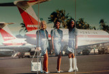 Hawaiian Airlines Stewardesses and DC-9's