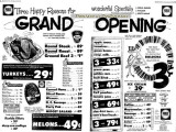 1962 - Publix opens on Palm Springs Mile in Hialeah, only the third Publix in Dade County but #85 in the chain