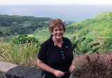 August 2010 - Karen on the north shore of Maui while we were driving the scary road back from Hana on the east shore