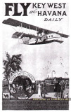 1921 - 7 years before Pan American Airways was founded, Miami had Aeromarine Airways serving Havana, Key West and Bimini