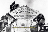 1920-1924 - the entrance to the dock for passengers boarding Aeromarine Airways flights at downtown Miami