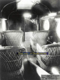 1920-1924 - the wicker chairs in the rear passenger compartment onboard Aeromarine Airways Model 75 Santa Maria