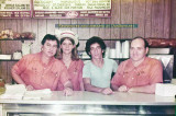 1970's - the crew of Jano's Sandwich Sub Shop with Pete Janowitz on the right