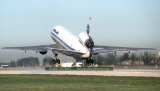 1982 - Pan Am DC10-10 taking off from runway 12 at Miami International Airport aviation airline photo