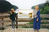 June 1997 - Donna and Karen at Fundy National Park, New Brunswick