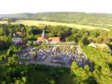 L'église et le cimetière
