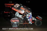 3-17-17 Tulare Thunderbowl Raceway: World of Outlaws - USAC West Coast