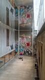Från Skissernas Museum, väggmålning av Swoon