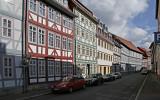 Väldigt många korsvirkeshus finns det i Duderstadt, Tyskland
