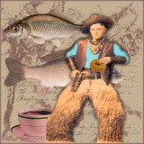 Cowboy, Coffee and Carp