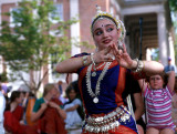 indian dancer at Apple Chill 2001