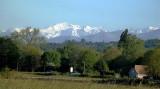 Le Béarn, sa campagne, ses villes et villages, ses vieilles pierres, ses cours d'eau, sa vue sur les montagnes