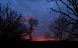 Nuages, ciel et couchers de soleil