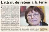 Dans La République en 2005, article de Renée Mourgues