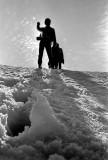Visite des faces Nord du Grand et du Petit Pic d'Ossau, 7 Juin 1969