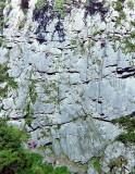 Arudy : les rochers du cirque d'Anglas