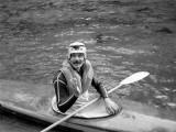 Parties de kayak, gave d'Ossau, forêt du Bager (18-19 Sept 1977)
