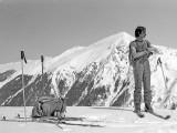 Pic de Burcq à ski par la crête Lamatché-Ouratou, 9 avril 1978
