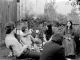 Réunion à Lys le 15 juillet 1972 pour fêter le mariage de Catherine et François Buffin