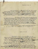 1ère page du tapuscrit du récit de François