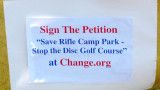 2nd RCP Disc Golf Protest