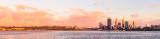 Perth Swan River Sunrise, 11th February 2012