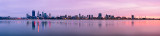 Perth and the Swan River at Sunrise, 18th February 2012